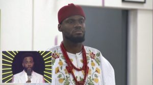 #BBNaija: Prince has been evicted from the Big Brother house