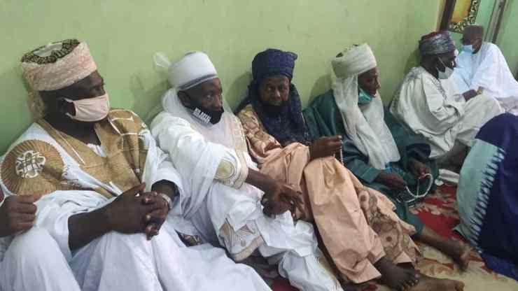 PHOTO NEWS: Faces at Buhari's CoS, Prof. Ibrahim Gambari's special prayer in Ilorin