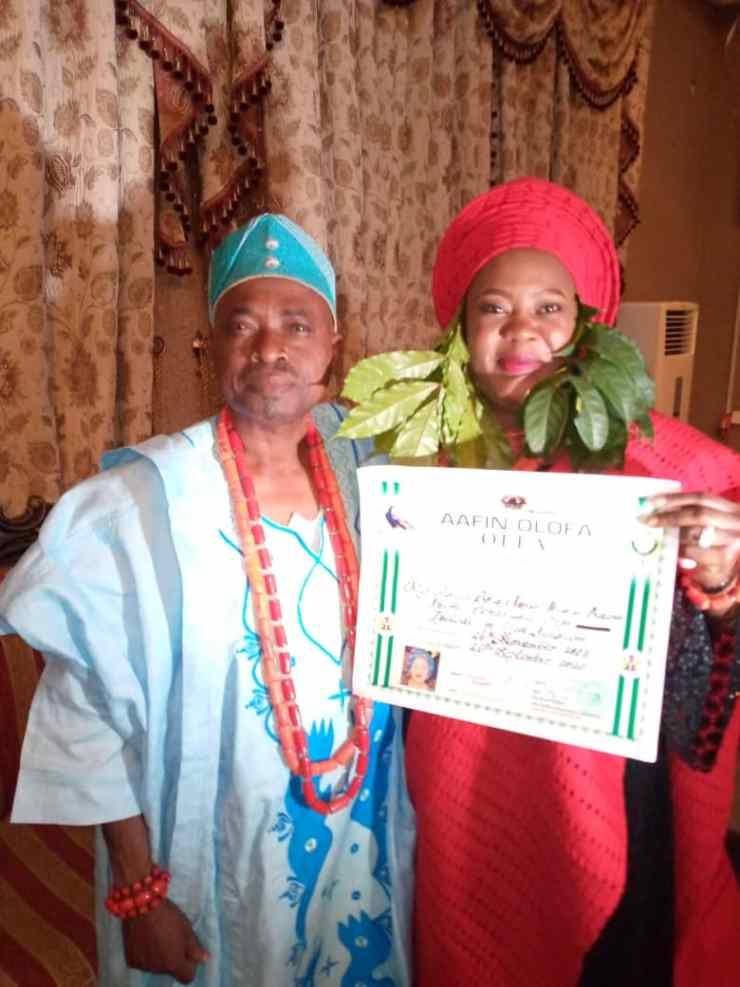Offa Kingdom gets new Iyalode