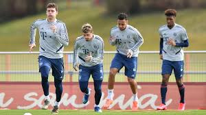 BAYERN MUNICH FC BEGIN PRE-SEASON TRAINING