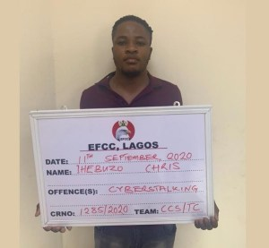 EFCC arrest man who bragged about hacking over 1000 customers' bank details and BVN in Lagos