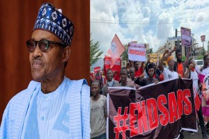 President Buhari addresses #EndSARS protesters, vows to ensure erring officers are brought to justice (video)