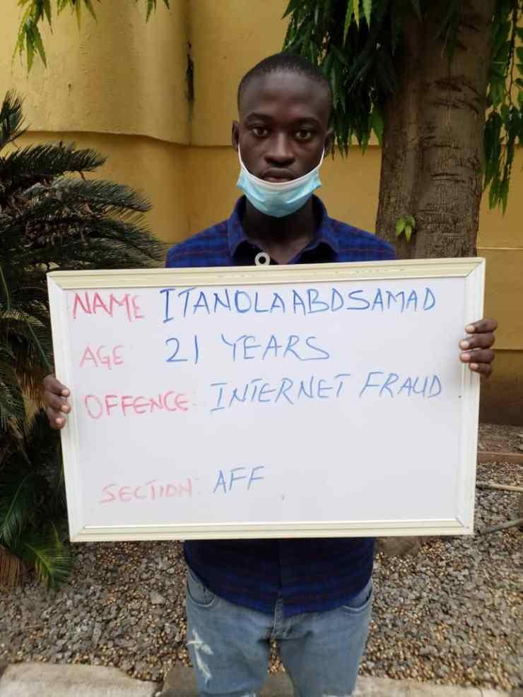 21yr-old UNILORIN student in EFCC custody