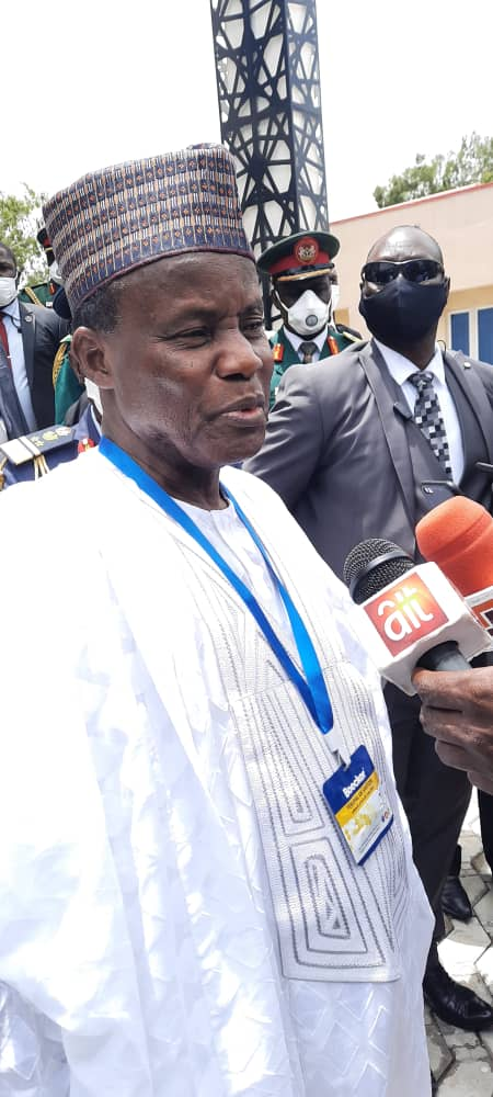 Minister applauds NAF troops in counter- insurgency efforts