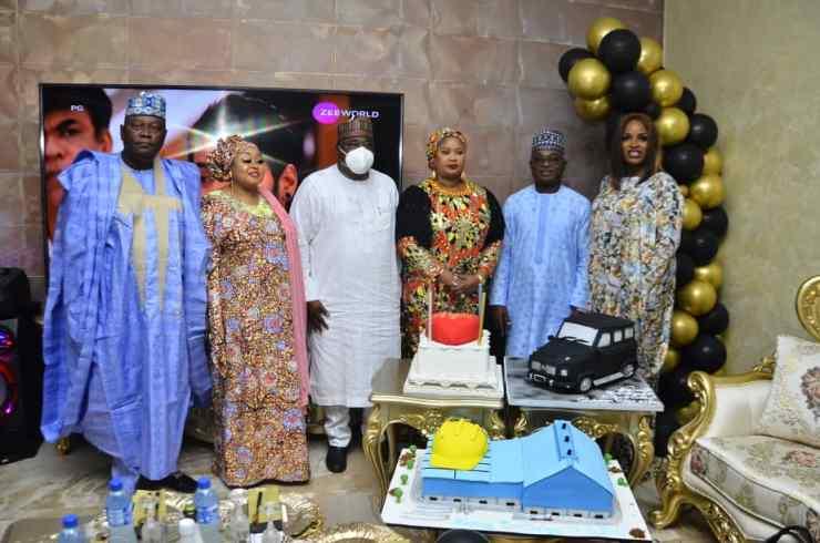 Kwara Dep. Gov, KAMWIRE knock COVID-19 greetings at birthday get-together (PHOTOS)