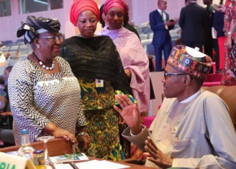 Buhari, Okonjo-Iweala, others in close-door meeting