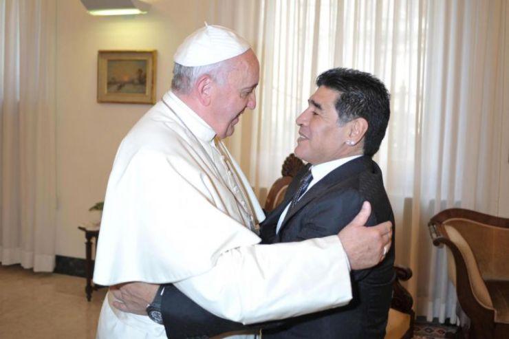 Pope Francis condoles fellow Angentine, lengendary footballer Maradona