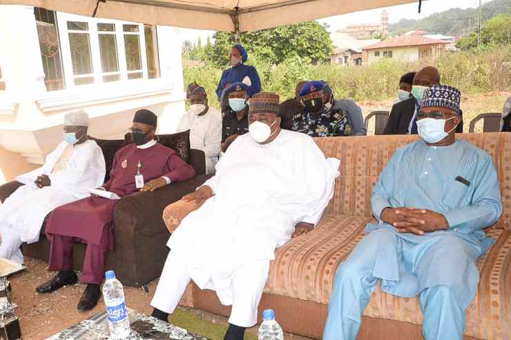 PHOTO NEWS: Faces at the commissioning of NIMC office donated by KAM Holding