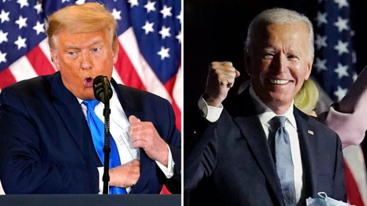 Trump to Biden: Don't wrongfully claim victory
