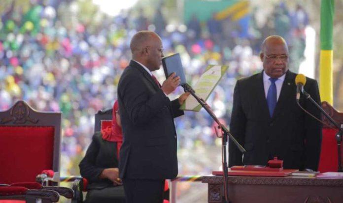 Re-elected Tanzanian president sworn in, pledges hard work