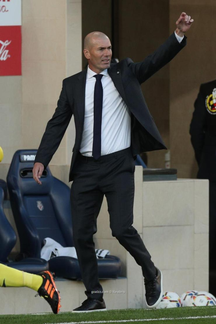 Zidane in sullen mood after Madrid draw
