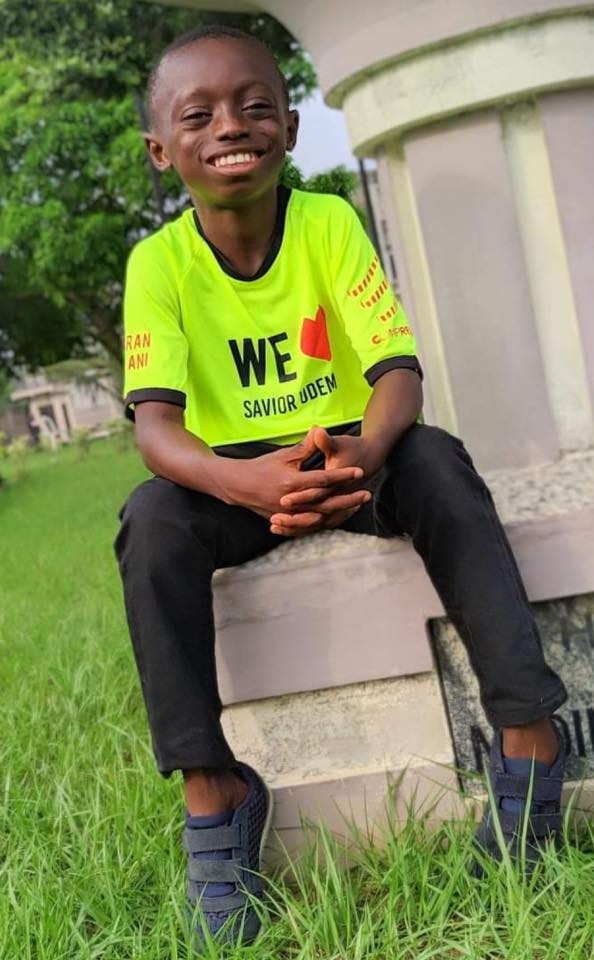 Amazing transformation of young boy branded a witch in Akwa Ibom, shunned and left to die, thrives after testing positive for HIV
