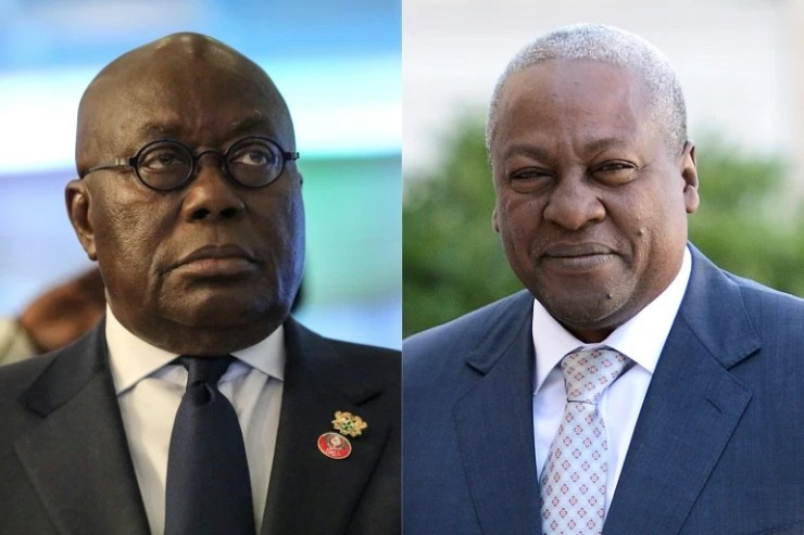 Former Ghana president says poll result is 'fictionalised, flawed'