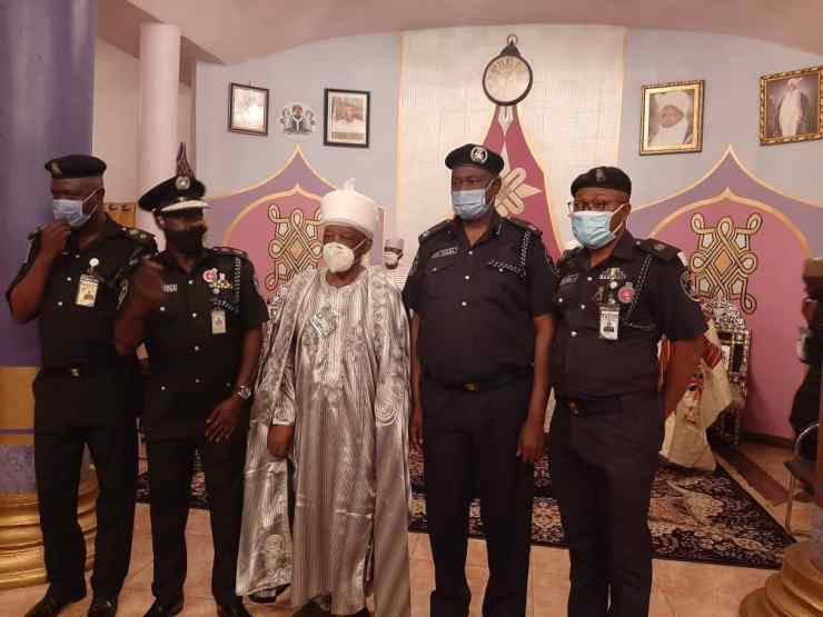 PHOTONEWS: New Kwara CP visits Emir of Ilorin