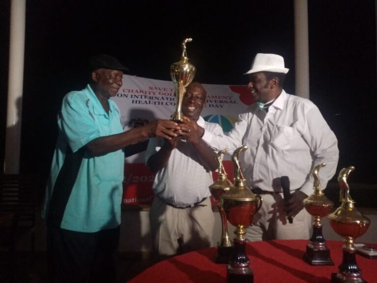 Okoko emerges winner of Save the Lives Charity Golf Tourney