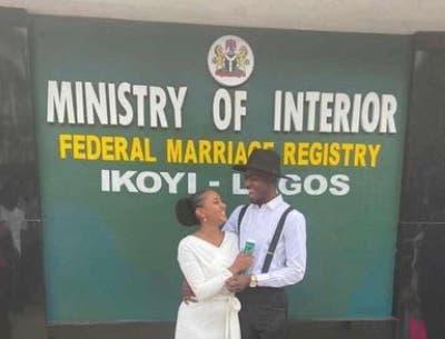 Comedian Josh2funny ties the knot with his bae in Ikoyi, Lagos
