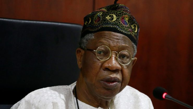 Improved security: Lai Mohammed backs claim with figures