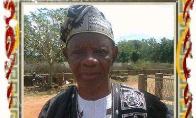 ICYM: Ex-Kwara deputy governor Sayomi dies at 95
