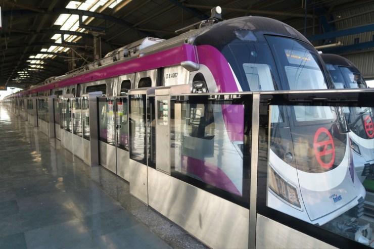 India inaugurates first-ever driverless metro train