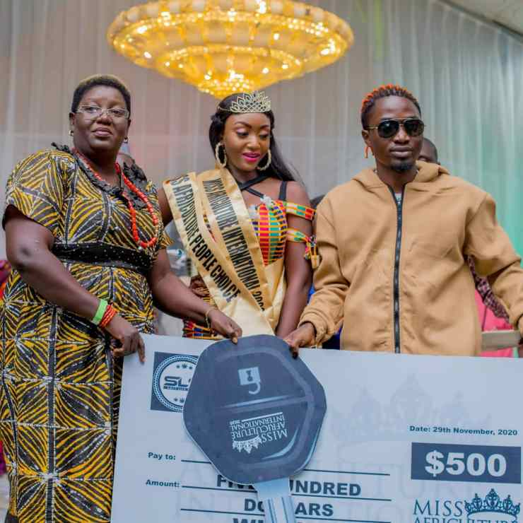 19-year-old Odesola Temitope wins Miss Africulture International 2020