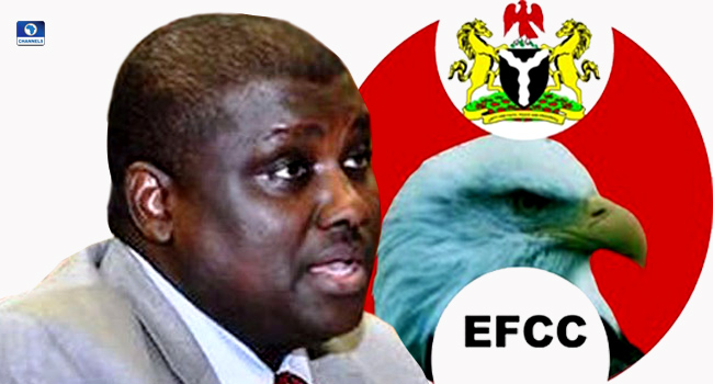 After jumping bail, EFCC produces fugitive ex-pension boss Maina in court