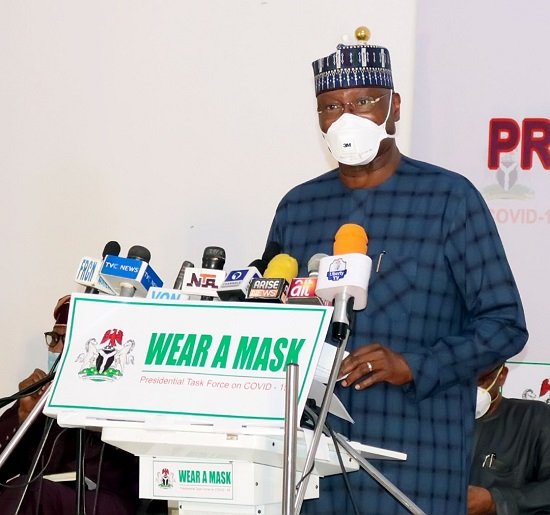 Remarks by BOSS MUSTAPHA, Chairman, Presidential Task Force on COVID-19