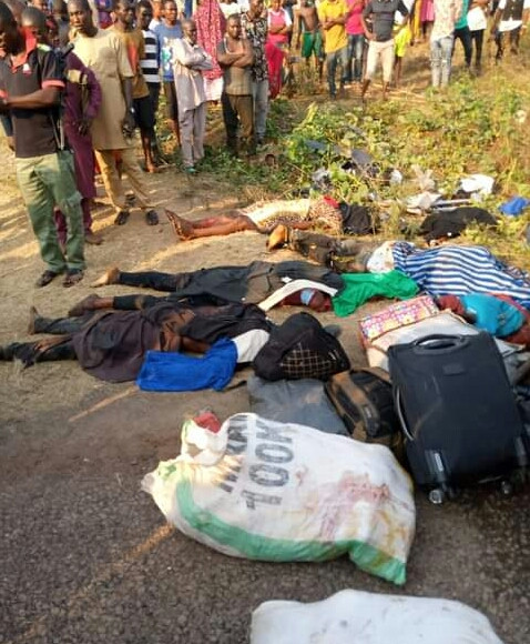 Five children, nine others killed as truck rams into passenger bus in Kogi