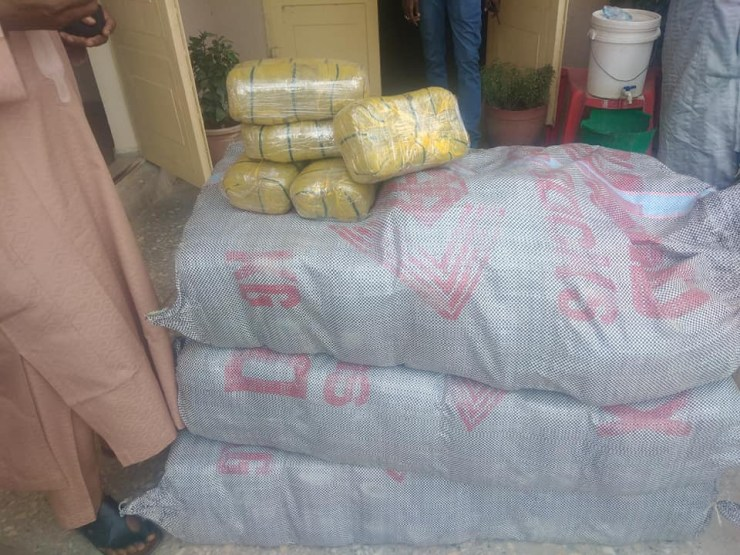Kano Agency intercepts vehicle with 172 parcels of Indian Hemp worth N30m