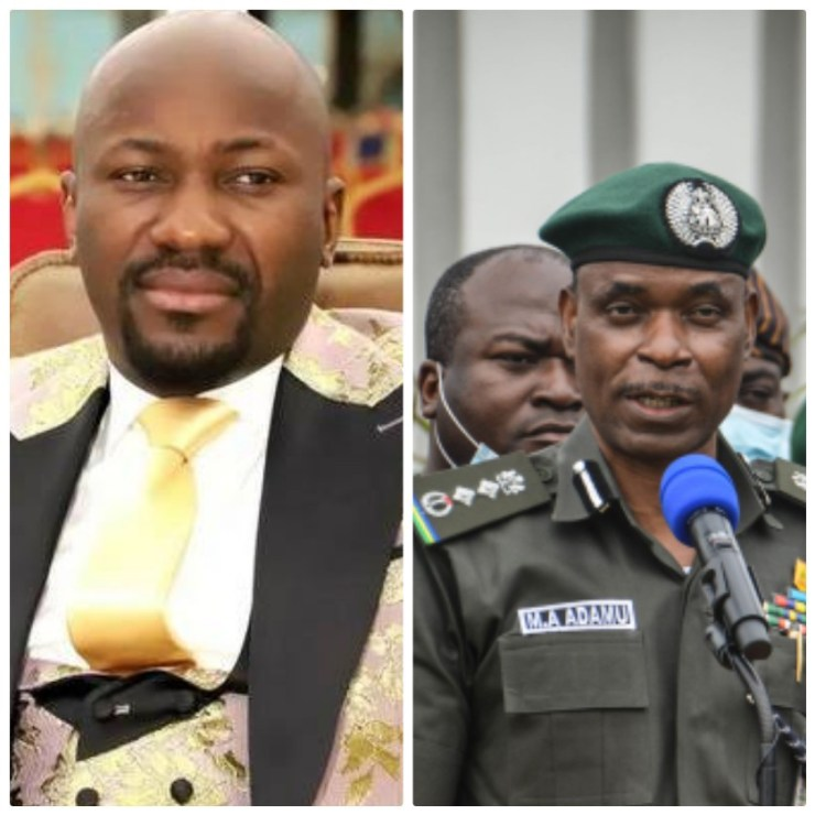 Apostle Suleman dismisses report that he is being investigated for allegedly sleeping with a former Pastor's wife