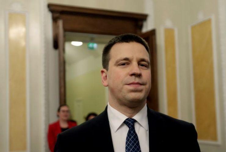 Estonian prime minister to resign, says spokeswoman