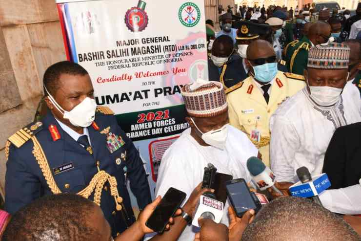 BUHARI REAFFIRMS COMMITMENT TO WELFARE OF FAMILIES OF FALLEN HEROES.