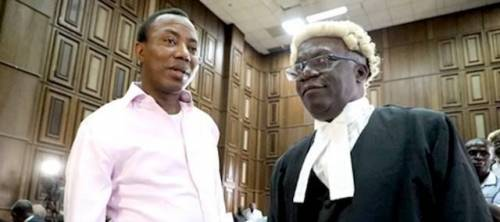 Police refused Sowore's bail application, awaits order from above – Falana