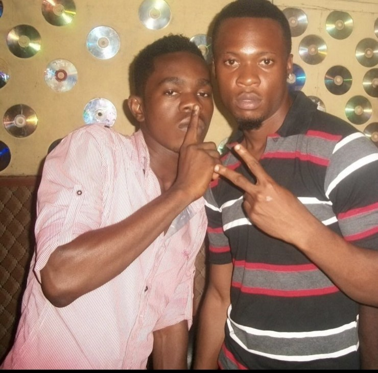 Check out this throwback photo of Flavour and Patoranking