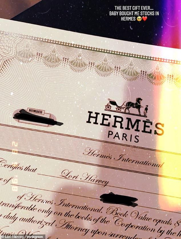 Michael B Jordan buys girlfriend Lori Harvey stocks in Hermès as Valentine's day gift