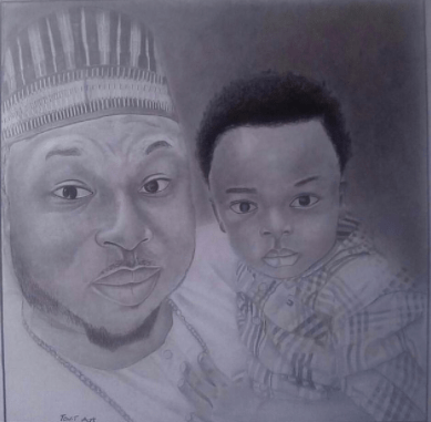 May the Lord honor your mum and surround you with peace - Olakunle Churchill prays for his son, King Andre, as he turns 5