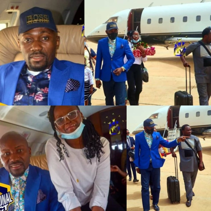 ''You have three private jets yet Auchi is one of the dirtiest places in the world' '- Nigerian lawyer residing in Japan blasts Apostle Suleman (video)