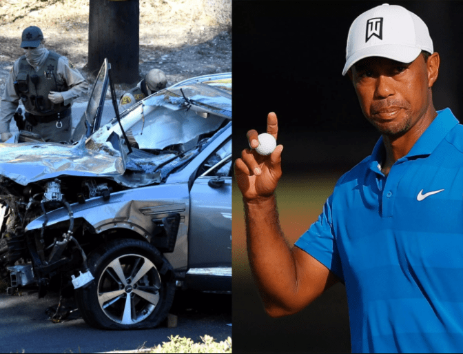 Tiger Woods doesn't remember being in California car crash
