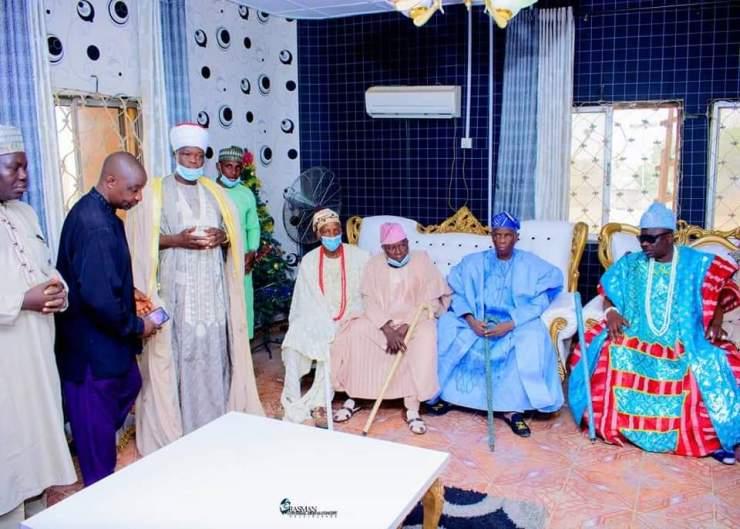 PHOTO NEWS: Kwara South monarchs visit Ajase-Ipo