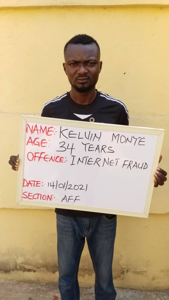 EFCC secures conviction of another love scammer in Kwara