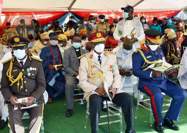 PHOTO NEWS: Faces as Ex-CDS, Olonisakin takes final exit
