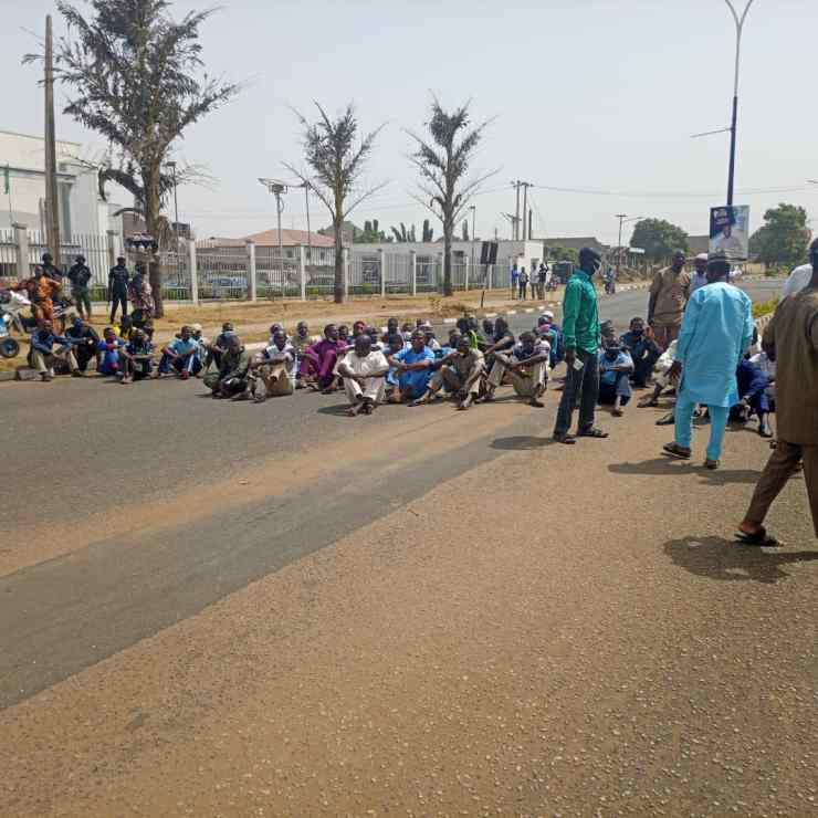 BREAKING.....Police confirms arrest of protesters in Kwara (PHOTOS)