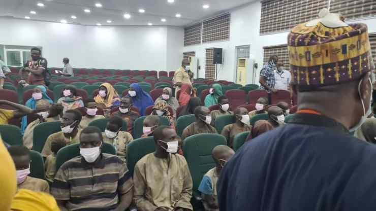 PHOTO NEWS: See pictures of newly released victims of NSTA kidnap
