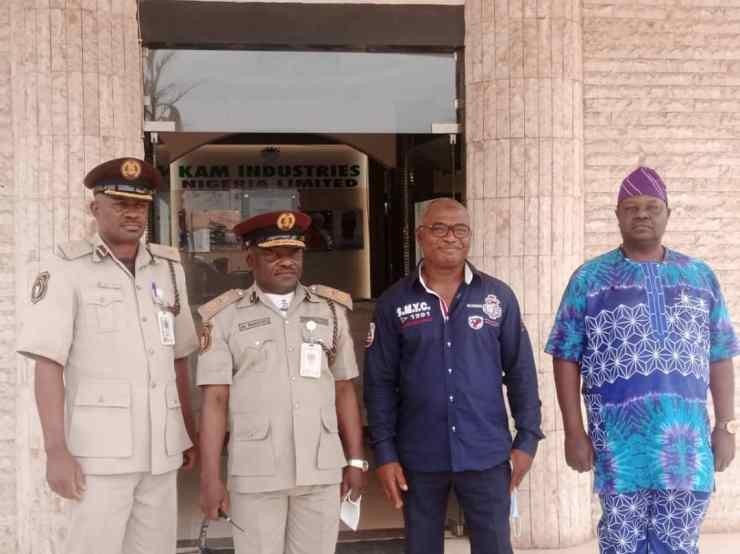 Immigration boss visits KAM Holding facility in Kwara (PHOTOS)