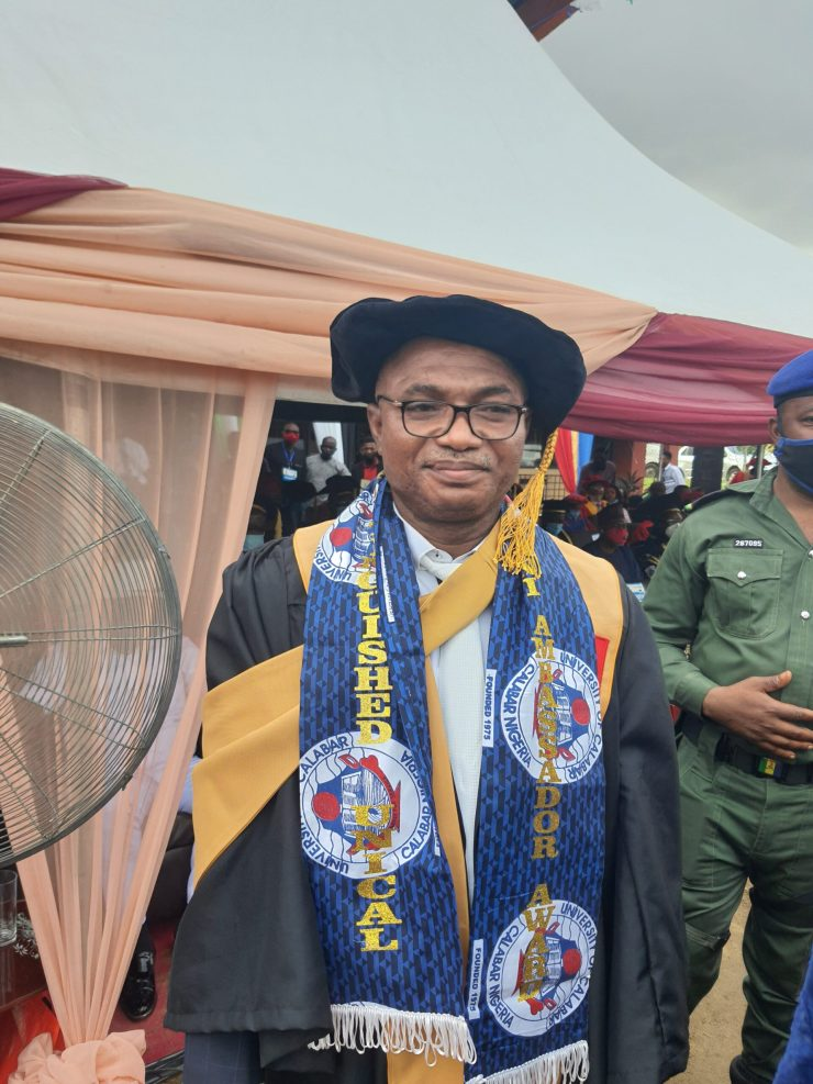 PHOTO NEWS: When KAM Holding CEO becomes UNICAL's Alumnus