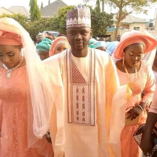 APC youth leader proudly shows off the two wives he married same day