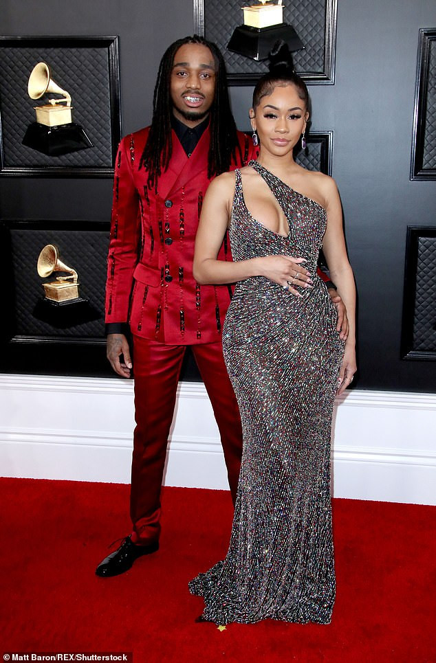 Saweetie and Quavo spark split rumours as they unfollow each other with the rapper declaring she 'doesn't like liars'