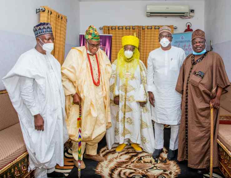 PHOTO NEWS: Emir Sulu-Gambari intervenes in Offa, Erin-Ile crisis