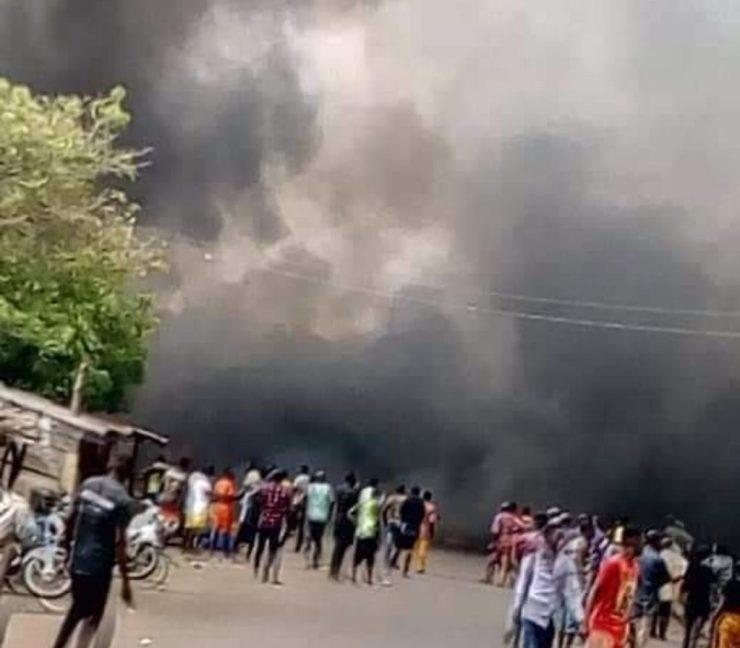 Tanker explosion kills 13 in Benue