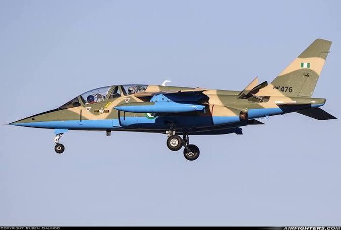 NAF Alfa Jet declared missing
