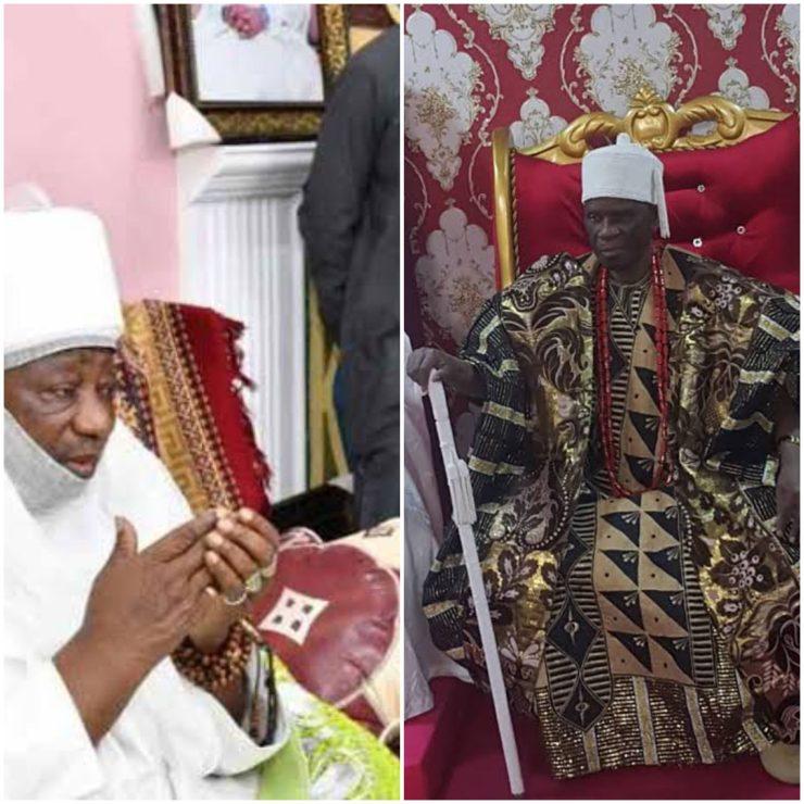 Emir Sulu-Gambari prays for Elese of Igbaja at 91